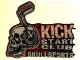 King Kerosin Sticker Kick start club /klein