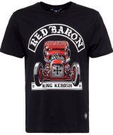 King Kerosin Regular T-Shirt / Red Baron