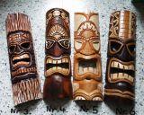 Tiki Holz Masken / Medium - Tiki Nr.3 / 4./ 5. / 6.