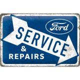 Blechschild mittel - Ford / Service & Repairs