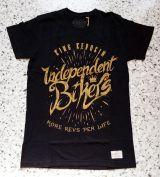 Vintage T-Shirt von King Kerosin - Independent Bikers / schwarz
