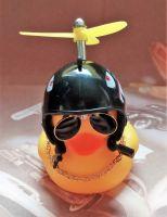 Ente mit Helm - Jagt Flieger