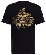 King Kerosin T-Shirt - Split the Road / Ghost Rider
