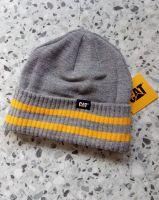 Caterpiller Beanie Strickmütze - CAT grey/yellow -