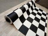 Karo Bodenbelag - Schachbrettmuster schwarz / weiss