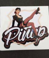 Pin up Sticker - Pinup