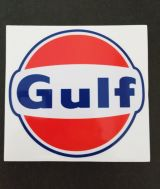 Race Sticker - Gulf
