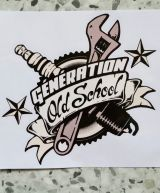 Race Sticker - Generation Old School