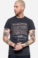 Acid Wash Roll-Up T-Shirt - American Legend