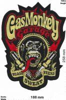 Rücken-Aufnäher / Patch -  Gas Monkey Garage
