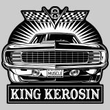 King Kerosin Sticker st_LV8